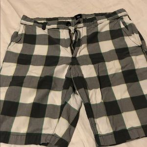 Gap plaid shorts. Size 34